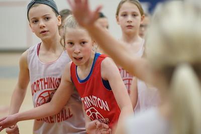 Nia and Riley Basketball - January 29, 2017