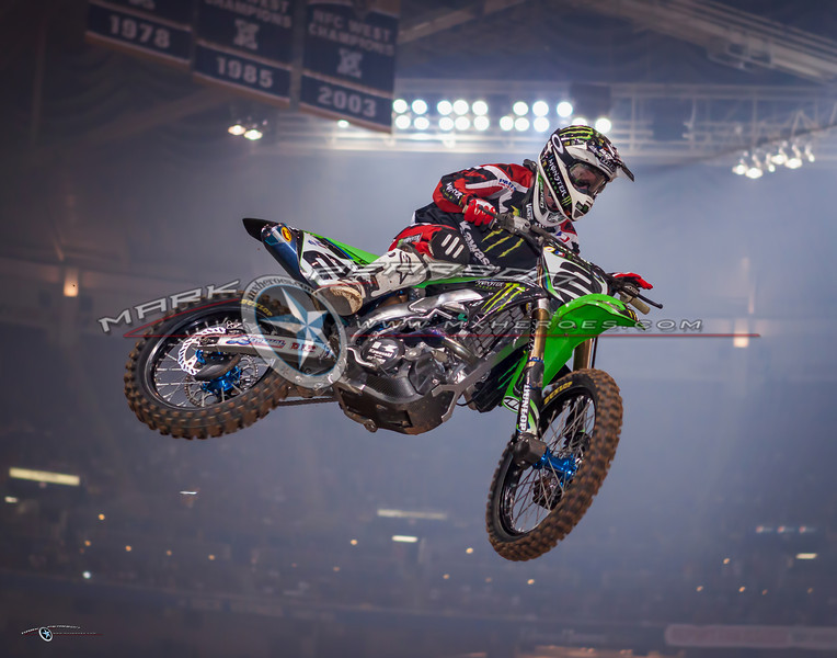 2011 SX Race in St. Louis, MO