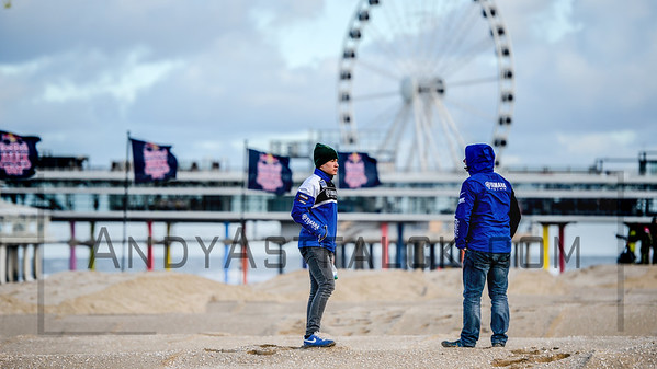 of the  walk the track of the Red Bull Knockout 2016 on Scheveningen beach in The Hague, the Netherlands on the 18th November 2016.