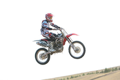 Tim Weinbender of Sidney race number 8