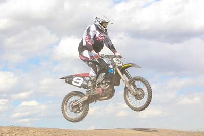 Gering's Robert Holcomb rides in the 450c class