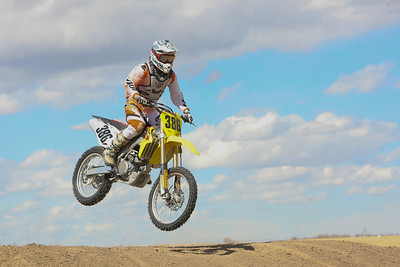 Minatare's Brent Weinreis placed third in the 450 class