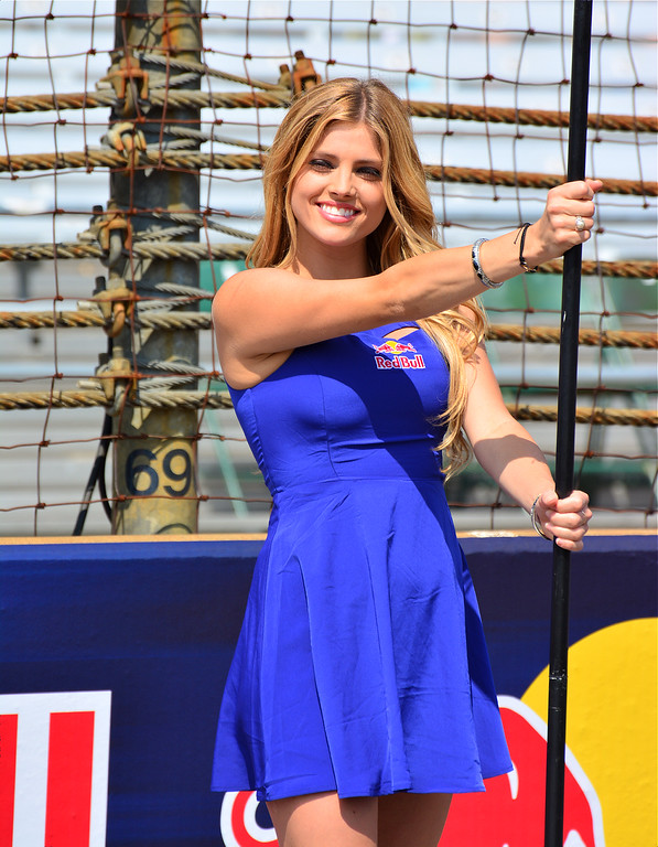 Warm Lovely MotoGP Grid Girl RedBull Indy GP
