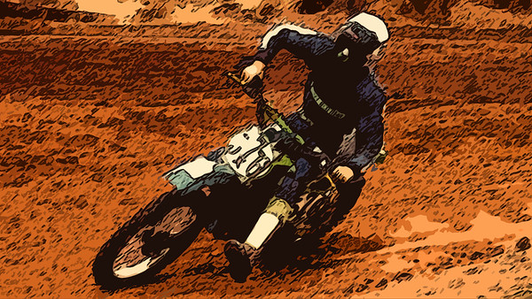 motocross cutout