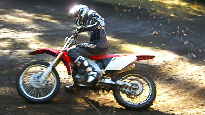 motocross inthe mountains mud