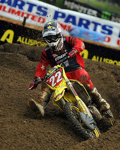 Reed would take over 1st in the second moto from Tedesco and ride to the overall win.