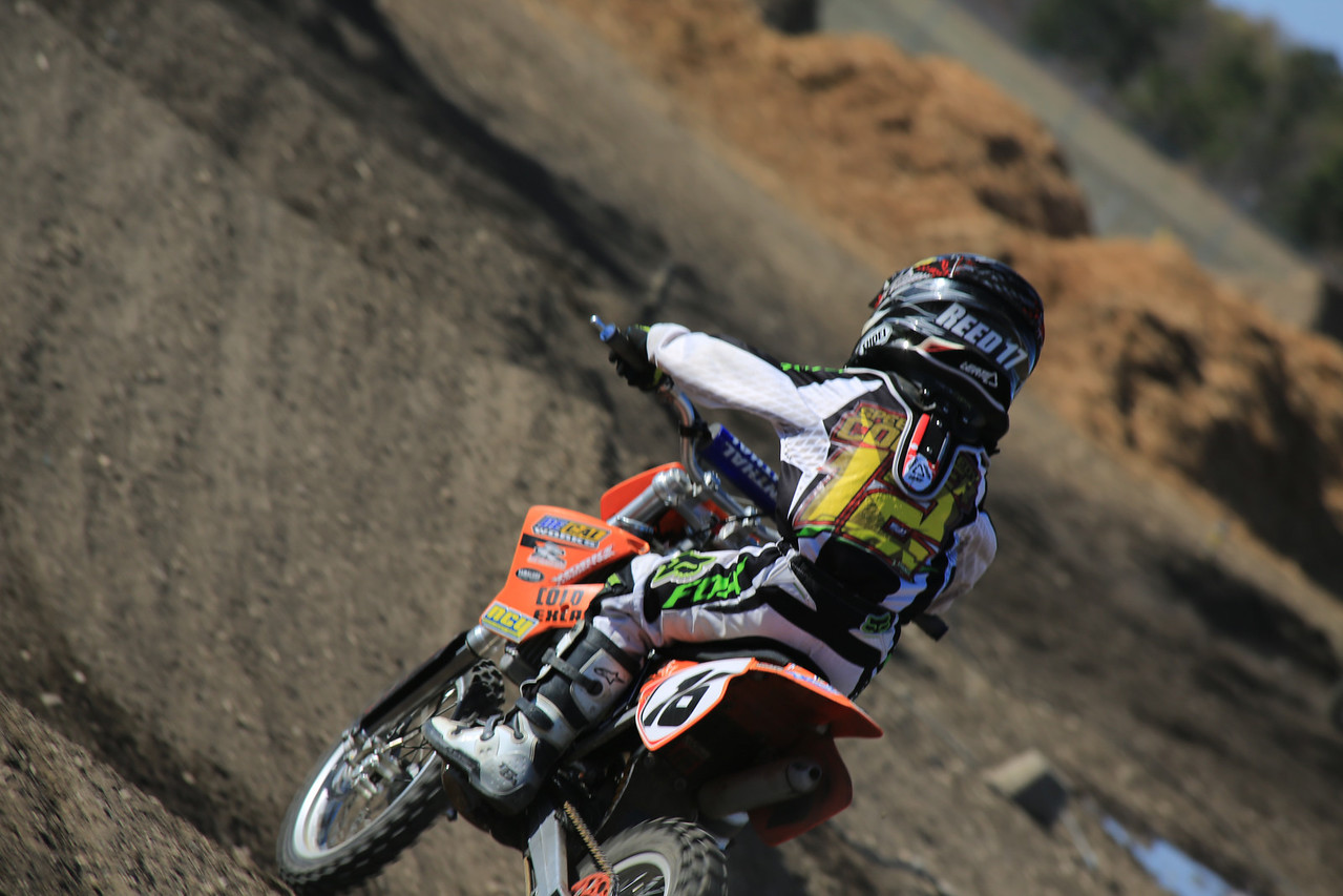Spent the day among friends , trying out some new grounds for me at the Motocross track