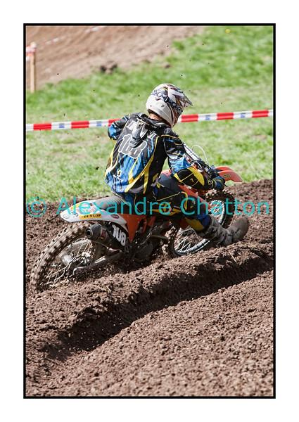 10 avril 2011: motocross à Siviriez, près de Romont, dans la Glâne fribourgeoise.