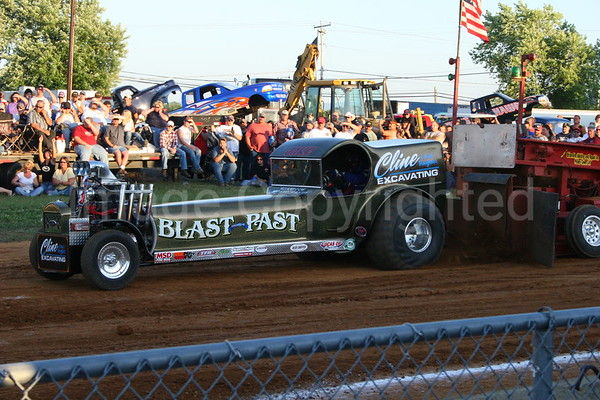 Blast from the Past Pulling Team at Frederick County Farigrounds VA - 8/8/07