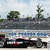 June 3, 2012; Detroit, MI, USA; IndyCar Series driver Will Power (12) during  the Chevrolet Detroit Grand Prix practice at Belle Isle. Mandatory Credit: Tim Fuller-US PRESSWIRE