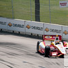 June 3, 2012; Detroit, MI, USA; IndyCar Series driver Helio Castroneves (3)  during the Chevrolet Detroit Grand Prix practice at Belle Isle. Mandatory Credit: Tim Fuller-US PRESSWIRE