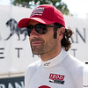 June 3, 2012; Detroit, MI, USA; IndyCar Series driver Dario Franchitti (10) before the Chevrolet Detroit Grand Prix at Belle Isle. Mandatory Credit: Tim Fuller-US PRESSWIRE