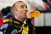 June 15, 2012; Brooklyn, MI, USA; NASCAR Sprint Cup Series driver Marcos Ambrose (9) during practice for the Quicken Loans 400 at Michigan International Speedway Mandatory Credit: Tim Fuller-US PRESSWIRE