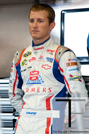 Aug 17, 2012; Brooklyn, MI, USA; NASCAR Sprint Cup Series driver Kasey Kahne (5) during practice for the Pure Michigan 400 at Michigan International Speedway. Mandatory Credit: Tim Fuller-US PRESSWIRE