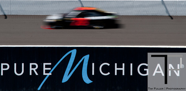 Aug 17, 2012; Brooklyn, MI, USA; NASCAR Sprint Cup Series driver Regan Smith (78) during practice for the Pure Michigan 400 at Michigan International Speedway. Mandatory Credit: Tim Fuller-US PRESSWIRE