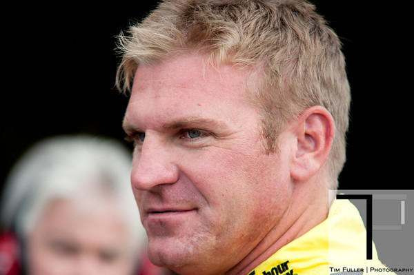 Aug 17, 2012; Brooklyn, MI, USA; NASCAR Sprint Cup Series driver Clint Bowyer (15) during practice for the Pure Michigan 400 at Michigan International Speedway. Mandatory Credit: Tim Fuller-US PRESSWIRE