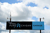 Aug 17, 2012; Brooklyn, MI, USA; A general view of a Pure Michigan sign during practice for the Pure Michigan 400 at Michigan International Speedway. Mandatory Credit: Tim Fuller-US PRESSWIRE