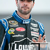 Aug 17, 2012; Brooklyn, MI, USA; NASCAR Sprint Cup Series driver Jimmie Johnson (48) during qualifying for the Pure Michigan 400 at Michigan International Speedway. Mandatory Credit: Tim Fuller-US PRESSWIRE
