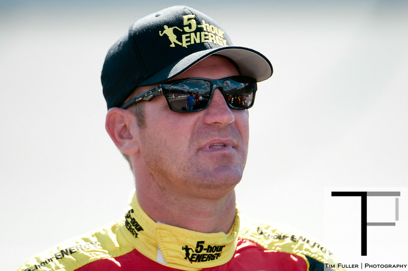 Aug 17, 2012; Brooklyn, MI, USA; NASCAR Sprint Cup Series driver Clint Bowyer (15) during qualifying for the Pure Michigan 400 at Michigan International Speedway. Mandatory Credit: Tim Fuller-US PRESSWIRE