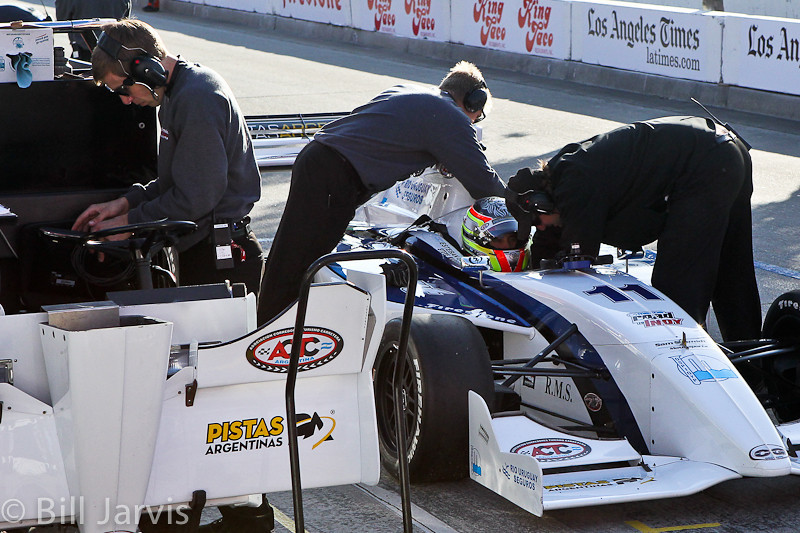 Indy cars at Long Beach Grand Prix