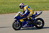 Timmy Dennis hard on the brakes for Turn 6 on the way to a 2nd place finish in the A Superbike Expert race