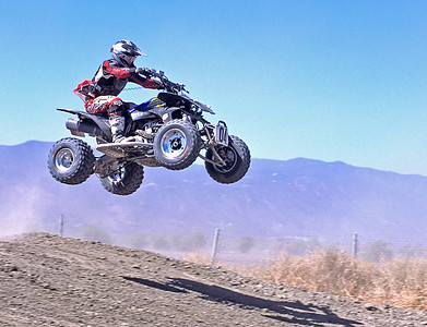 Dan Brooks on track.  Lake Elsinore, California.