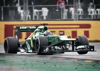 F1 Australian Grand Prix 17 March 2013 Race Day