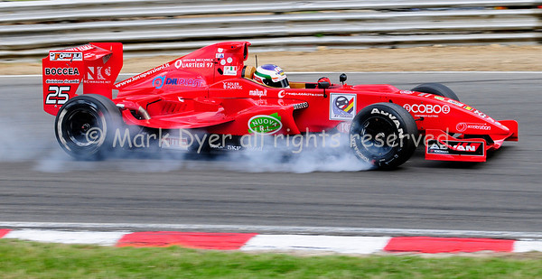 Formula Master braking at Druids