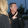 The legendary Johnny Rutherford as he was arriving at the bash.
