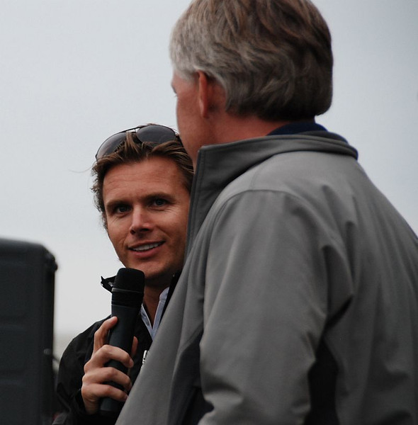@CurtCavin promised @DanWheldon a 500 win the first time he stopped by the Burger Bash. Well, the second time was the charm. :)