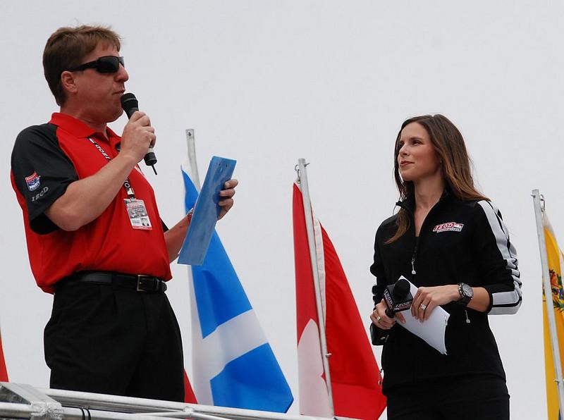Michael Young and Lauren Bohlander