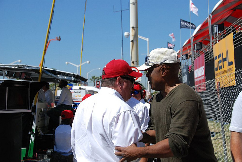 Chip Ganassi and Willy T. Ribbs
