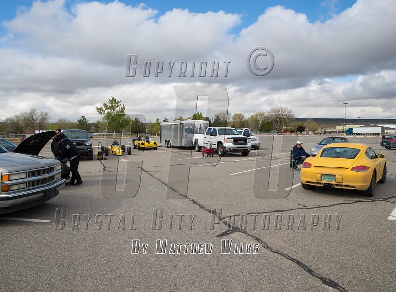 Rio Grande Region SCCA. Autocross Event #2. Farmington, NM. April 29, 2017.