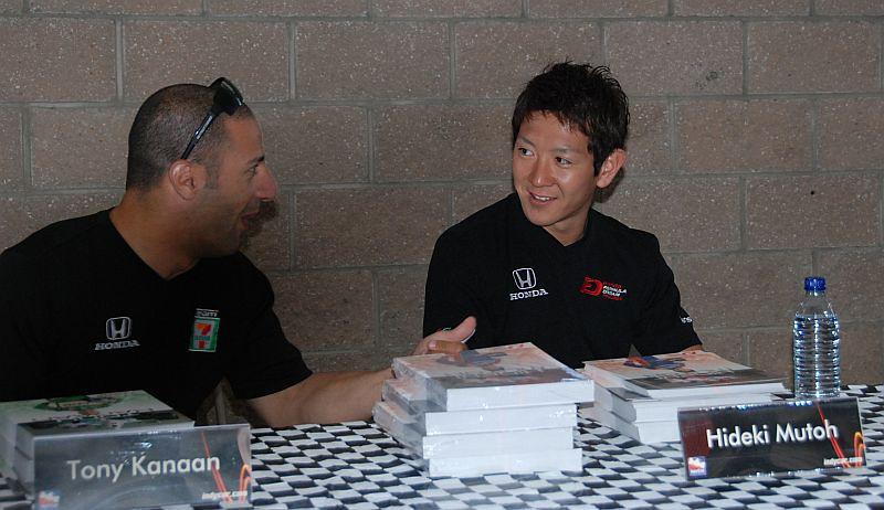 Hideki appears to be wondering if he should believe TK...