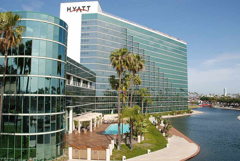 The Hyatt is located inside the race circuit. Getting a room here would be highly convenient for race fans and teams alike.