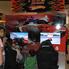 iRacing's simulator in the Indy Fan Zone.
