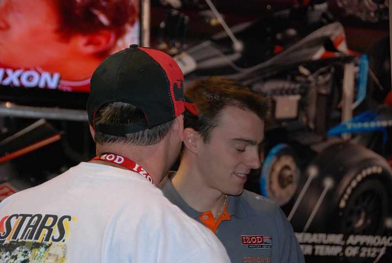 Driver Bertrand Baguette.