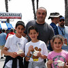 This dad asked me  to photograph him with his adorable kids. Looks like they were having a great time! Lots for families to do at the Grand Prix of Long Beach.