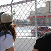Drifting was really popular with the Grand Prix crowd.