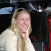 Firestone Indy Lights driver Pippa Mann.