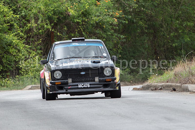 Rally Barbados 2016 - Andrew Jones, Lindsey Pilkington