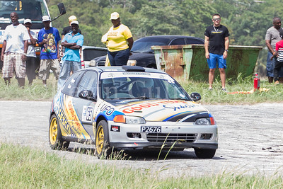 Rally Barbados 2016 - Jermin Pope, Adam Cox