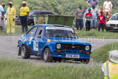 Rally Barbados 2016 - Dick Mauger, Andrew Smith