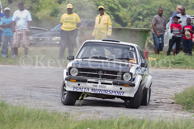 Rally Barbados 2016 - Gary Thomas, Linda Thomas