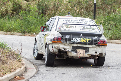 Rally Barbados 2016 -David Coelho, James Harris