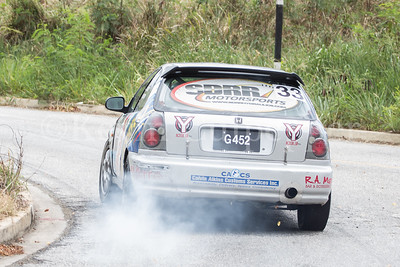 Rally Barbados 2016 - Kurt Thompson, Adam Straker
