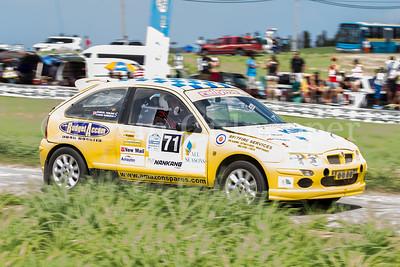 Rally Barbados 2016 - Marcel Freling, Karen Robinson