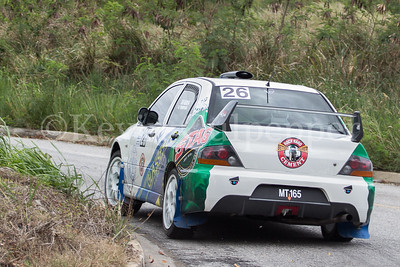 Rally Barbados 2016 - Kurt Seabra, Mark Thompson