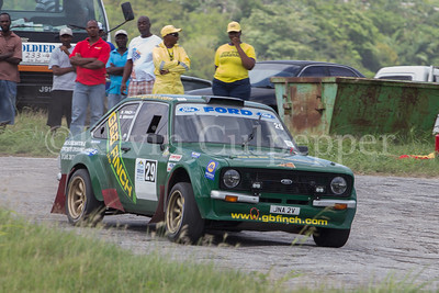 Rally Barbados 2016 -  Steve Finch, Stanley Graham