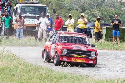 Rally Barbados 2016 - Stuart Tomlinson, Nick Taylor